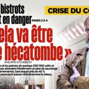 200 000 cafés et restaurants attendent fébrilement un plan de sauvetage gouvernemental – Philippe Etchebest monte au créneau