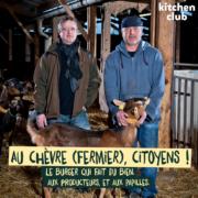 G.O.A.T. – le burger solidaire du fromage, le burger qui fait du bien aux producteurs et aux papilles!