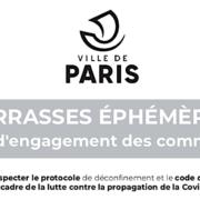 «Je m'engage … » – découvrez «la charte terrasse» sur laquelle doivent s'engager les commerçants parisiens pour exploiter leur activité extérieure
