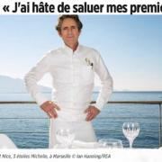 Gérald Passédat le premier trois étoiles Michelin à rouvrir ses portes … c'était hier soir à Marseille