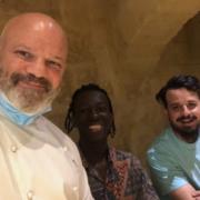 #cuisiniermasqué… Le challenge continue … Les chefs et leurs masques !