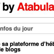 Blogs en quête de diffusion et notoriété – Atabula vous héberge sur sa plate-forme pour gagner de la visibilité