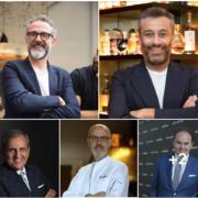Massimo Bottura, Carlo Cracco, Franco Pepe sur le webinaire «Identità di Sala» – Thème du rendez-vous : Renaissance et premiers pas