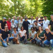 Les chefs réunis en séminaire à Colombey-Les-Deux-Églises chez Jean-Baptiste Natali