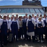 «Les Chefs avec les Soignants» honorés aujourd'hui par Brigitte Macron sur le Bateau Ducasse Sur Seine