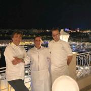 Brèves de chefs – Yannick Alléno au Réva Resort en Italie, Frédéric Anton déjà 1 an à la Tour Eiffel, Pierre Augé prépare la Féria, Muni à Kyoto ouvre avec 2 restaurants Ducasse,…