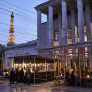 Lancement du jour, Edo, terrasse estivale éphémère du Palais de Tokyo