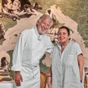 Pierre Gagnaire et Nicole Rubi signent la carte de «Paradiso Nicole & Pierre» le nouveau restaurant de l'Hôtel Barrière Le Majestic de Cannes