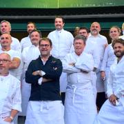 Coupe du Monde de Rugby 2023 – 23 chefs réunis pour le lancement du XV de la Gastronomie et l'inauguration du Train du Rugby France 2023