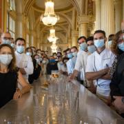 Philippe Etchebest fête les 5 ans de son restaurant bordelais le » Quatrième Mur «