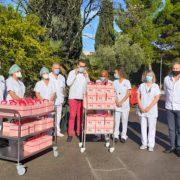 Montpellier – crise Covid Oblige » Toqués D'Oc » est passé pour cette année en » Box Gourmande des Chefs » , 1300 personnes servies ce samedi sans oublier les soignants du CHU