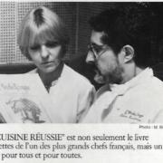 Disparition de Eventhia Senderens, avec le chef Alain son époux, ils formaient un couple mythique de la gastronomie française
