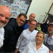 Pascal Barbot à Top Chef 2021 – Tournage avec le Jury des 4