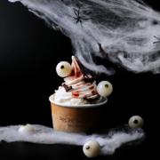 Le chef pâtissier Jordi Roca a imaginé une composition glacée pour Halloween