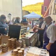 Découvrez quelques images du «marché gastronomique » du chef Olivier Nasti ce samedi à Kaysersberg