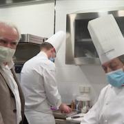 Dans l'une des 3 plus grandes écoles de cuisine de la planète – à Meudon avec le chef Jacques Maximin
