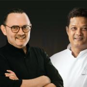 Les chefs Sakal Phoeung et Frédéric Thévenet partagent les fourneaux pour une série de dîners à 4 mains