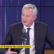Fermeture des Bars et Restaurants – Le Ministre Bruno Lemaire indique qu'une ouverture le 20 janvier 2021 est incertaine