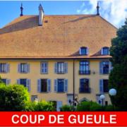 Un Chef Suisse pousse un Coup de Gueule – » Il faut que le Conseil Fédéral nous respecte, c'est un minimum «