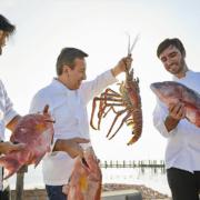 Daniel Boulud présente l'équipe de son nouveau restaurant aux Bahamas