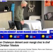 Il ne fait pas bon se retrouver en compagnie de Pierre-Jean Chalençon en ce moment, le chef Christian Têtedoie dénonce les rumeurs de repas clandestins à Lyon