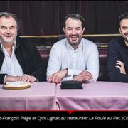 Jean-François Piège – » j'ai arrêté la vente à emporter parce que j'en avais assez des plats dans du carton «