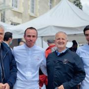 Les chefs Christophe Hay et Bernard Vaussion parrainaient ce lundi le premier Printemps de la Restaurantion à Olivet