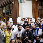 Gwendal Poullennec – «à toutes les restauratrices et à tous les restaurateurs de France qui rouvrent aujourd'hui, je leur souhaite une excellente reprise ! «