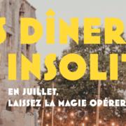 Psst, par ici… Marseille Provence Gastronomie – Les Diners Insolites reviennent !