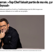Michel Sarran » mon éviction de Top Chef a été un peu violente «