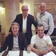 Jacques Maximin prépare les sujets du prochain MOF catégorie Cuisine-gastronomie