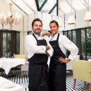 Le restaurant Il Carpaccio du Royal Monceau accueille Oliver Piras et Alessandra Del Favero